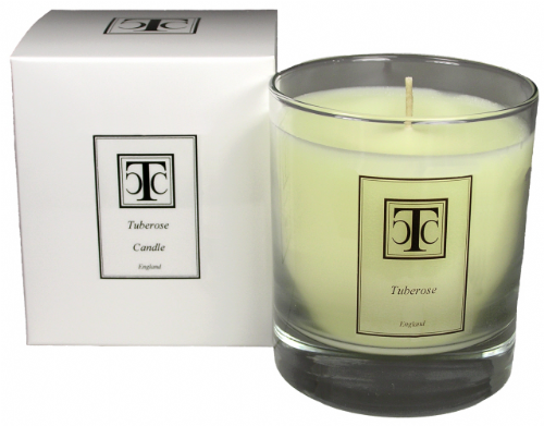 Moroccan Orange Blossom Jasmine &  Basil Scented Candle 40 hour